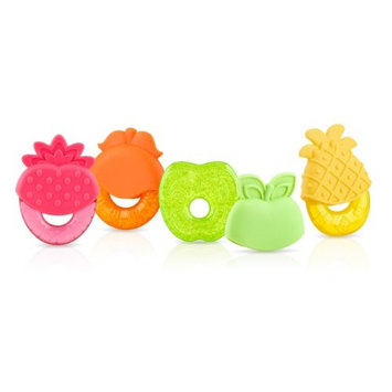 Nuby IcyBite Fruit Shaped Teether, Colors May Vary