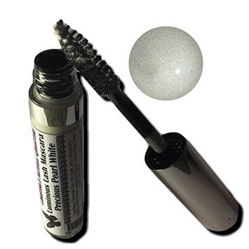 All Natural Luminous Lash Color White Mascara - Precious Pearl White