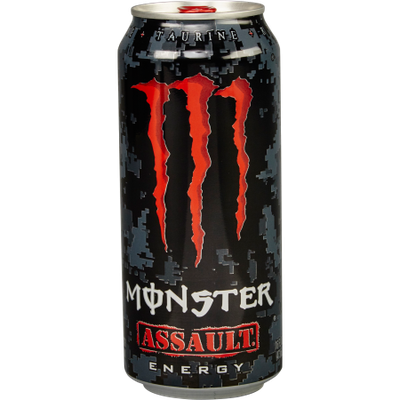 Monster Energy, Assault, 16 Fl Oz, 24 Count