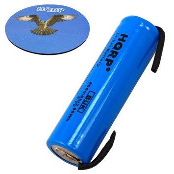 HQRP Battery for Philips Sonicare HX6711 HX6712 HX6730 HX6731 HX6732 HX6780 HX6781 HX6782 HX9342 HX6733 HX6750 HX6511 HX6530 HX6581 HX6582 HealthyWhite Toothbrush Repair + HQRP Coaster