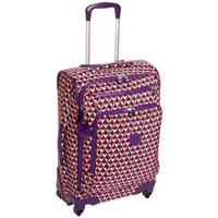 Kipling Youri Spin 55, Hand Luggage, 55 cm, 33 liters, Blue