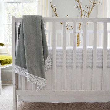 Oliver B. & Co., Llc Owen & Ozzie 2-Piece Crib Bedding Set, Grey