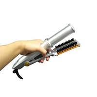 MF@SQY Automatic Spiral Hair Curler Ceramic Hair Straightener Ceramic Iron Combo Volume Dual-Use Anti-Hot