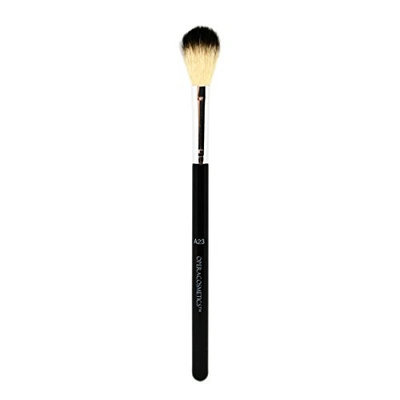 OPERACOSMETICS goat hair powder brush for highlighter glow and blush makeup brush (7.4IN)