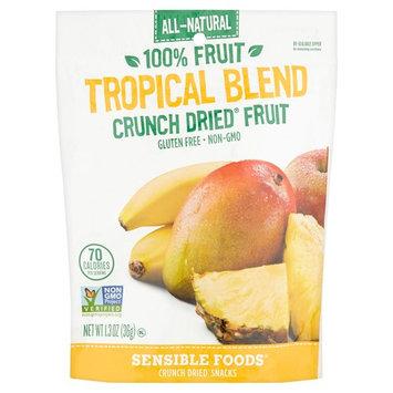 Sensible Foods Tropical Blend Crunch Dried Fruit, 1.3 oz, 12 pack