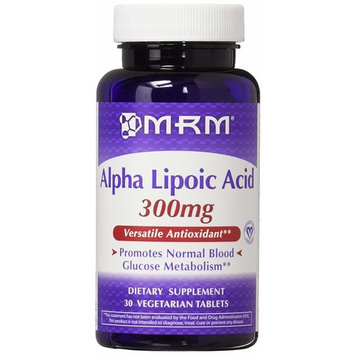 MRM 300Mg Alpha Lipoic Acid Capsules Bottle, 2 Count