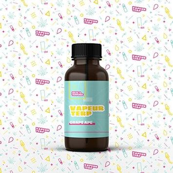 Delta 9 Terpenes - Grape Ape | 100% Pure Organic | Strain Specific