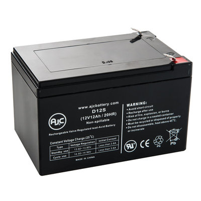 HKbil 6FM10 12V 12Ah Sealed Lead Acid Battery - This is an AJC Brand® Replacement