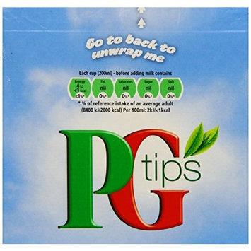 PG Tips Black Tea, Pyramid Tea Bag, 80-Count Box
