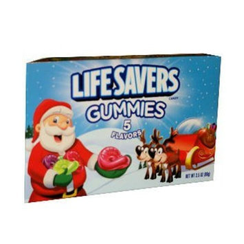 Wrigley's Christmas Lifesaver Gummies - Stocking Stuffer - One Pack
