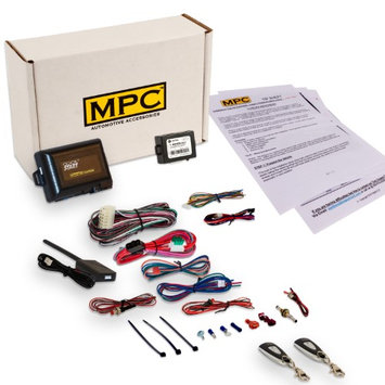 Mpc Complete 1-Button Remote Start/Keyless Entry Kit For 2003-2004 Honda Pilot -Includes Bypass Module -(2) 1 Button Remotes