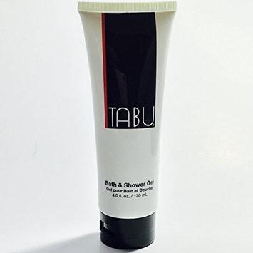 TABU Bath and Shower Gel 4.0 Fl Oz - minimal tube discoloration