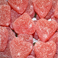 Ferrara Candy Company FERRAERA PAN, CANDY JELLY HEARTS CHERRY, 30 LB, (Pack of 1)