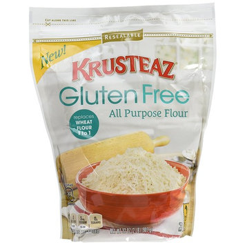 Krusteaz Gluten Free All Purpose Flour Mix, 32-Ounce Boxes (Pack of 8)