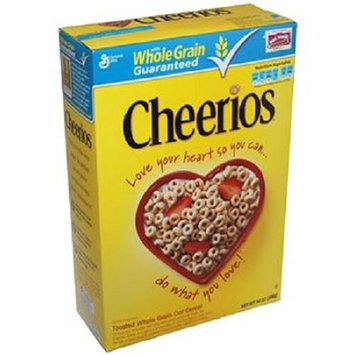 Gm Cereal Box Cheerios 12 Oz - 1 count only