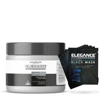 Facial Kit - 5 Black Mask Sachets + Facial Scrub