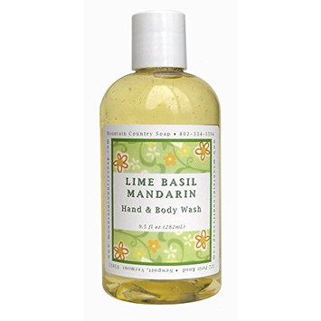 Lime Basil Mandarin Hand & Body Wash