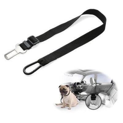 Ownpets Adjustable Pet Seat Safety Belt Heavy Duty Hardware including Tangle-Free Swivel, Carabiner, Latch Bar