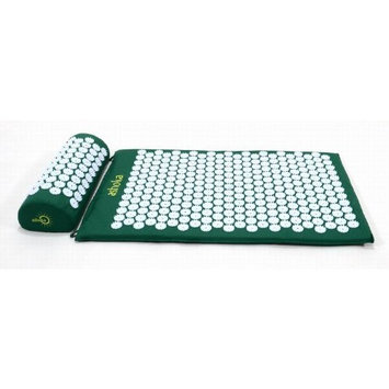 Ashoka Acupressure Mat and Pillow Complete Set, Green