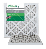 AFB Silver MERV 8 11.25x11.25x1 Pleated AC Furnace Air Filter. Filters. 100% produced in the USA. (Pack of 2)