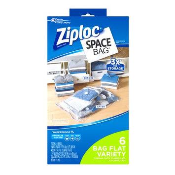 S.c. Johnson Ziploc Space Bag 6 Count Vacuum Bag: 2 Medium, 2 Large, 2 Extra Large