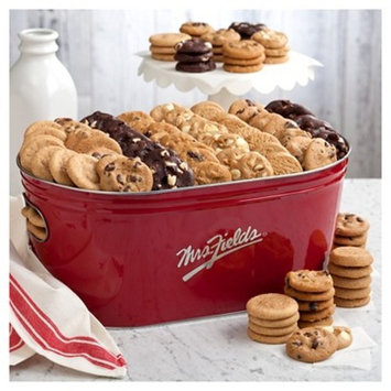 Mrs. Fields Nibblers Basket 144 Assorted Bite Sized Cookies