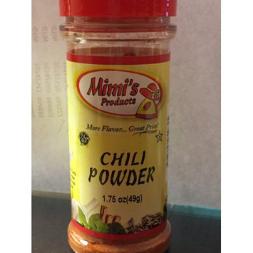 Nac Foods MIMI'S PRODUCTS CHILI POWDER 12/ 1.75OZ