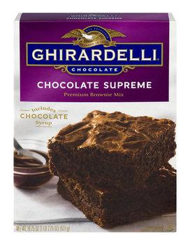 Ghirardelli Chocolate Chococlate Supreme Premium Brownie Mix