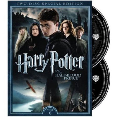 Warner Brothers Harry Potter & The Half Blood Prince DVD (Special Edition)