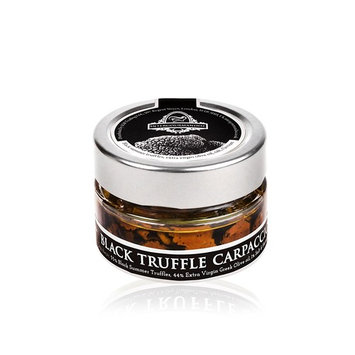Black Truffle Carpaccio | Truffle Slices | 40 Ml. / 1.4 Oz. Glass Jar | InterGourmandise