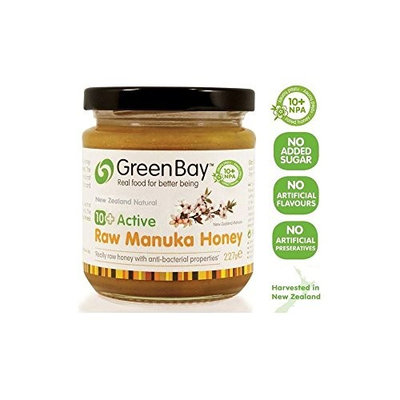 Green Bay Harvest Active 10+ Raw Manuka Honey (227g) - Pack of 2