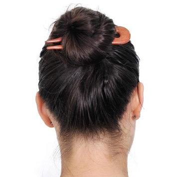 MaryCrafts Wooden Amber Wayvy Hair Pin, Hair Fork, Hair Stick, Hair Accessory Handmade 5