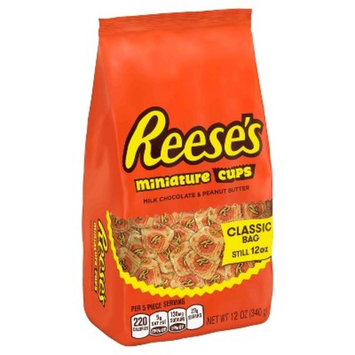 Reese's Miniature Peanut Butter Cups Classic Bag - 12oz