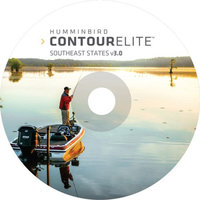 Humminbird CONTOUR ELITE Southeast States PC Softw CONTOUR ELITE Southeast States PC Software