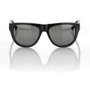 100% Higgins Sunglasses Gloss Black - Gray Lens