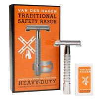 Van Der Hagen Traditional Heavy Duty Safety Razor 1.0 ea(pack of 3)