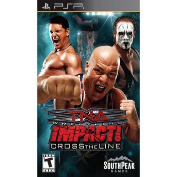 South Peak Tna Wrestling Impact!: Cross The Line - Psp
