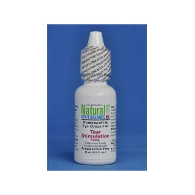 Tear Stimulation Fort Eye Drops 0.5 oz by Natural Ophthalmics, Inc