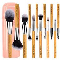 vela.yue Makeup Brush Set 12 pieces Vegan Full Function Face Cheek Eyes Lips Beauty Tools Kit with Case
