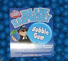 Dubble Bubble Blue Raspberry 1 inch Gumballs, 5LBS
