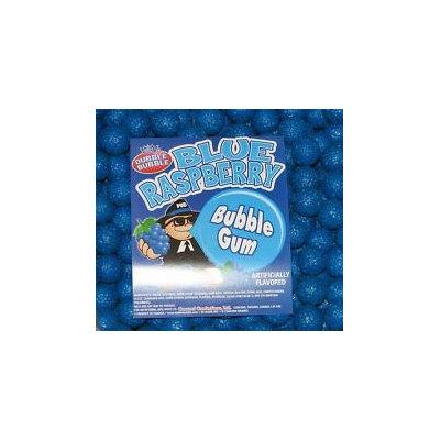 Dubble Bubble Blue Raspberry 1 inch Gumballs, 1LB