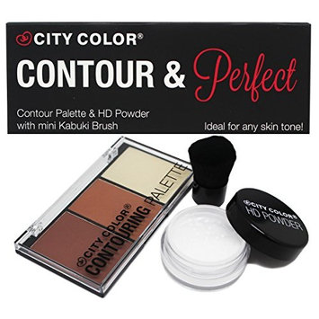 CITY COLOR Contour & Perfect Set-G0062