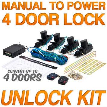 Biltek® Power Car Door Lock / Unlock Kit Keyless Remote For Kia / Porsche Forte K900 Rio 924 918 Boxster GT
