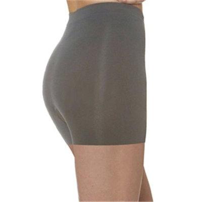 N Fini 1179 Anti Cellulite Boy Shorts, 2 per Pack , Large & 2X - Gray