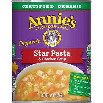 Annie's Organic Star Pasta & Chicken Soup