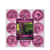 Colonial Candle Mulberry Tealights, Set of 9