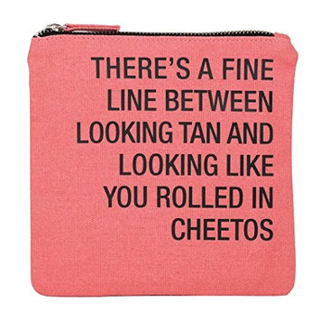 About Face Designs Rolled in Cheetos Cosmetic Bag, 6.75