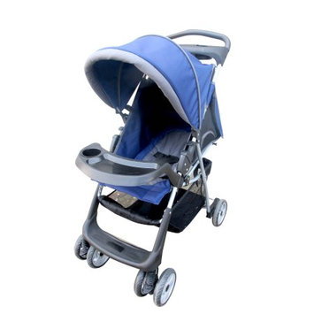 AmorosO 21263 Convenient Baby Stroller Blue