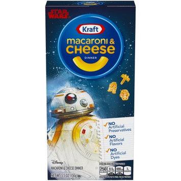 Kraft Macaroni and Cheese Dinner Star Wars Shape, 5.5 oz