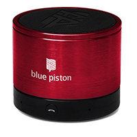 Logiix Blue Piston Wireless Rechargeable Speaker - Cherry